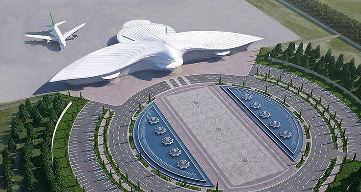 medzinárodné letisko v Ašchabade