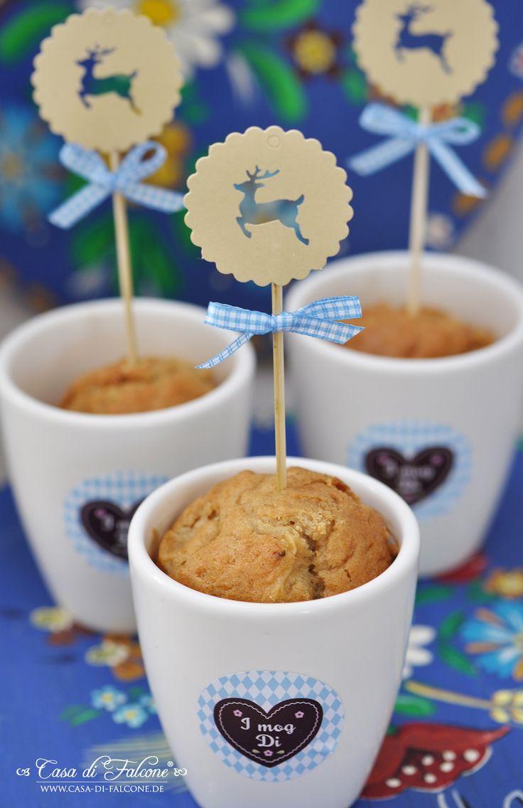 Very cute Bavarian dessert idea for weddings!