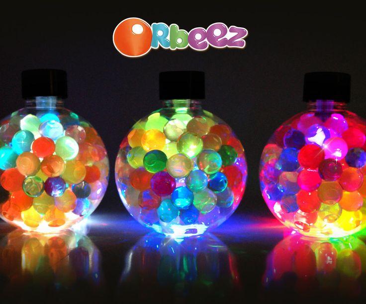How to Make Orbeez Mood Lamp ! DIY Orbeez LED Mood Light