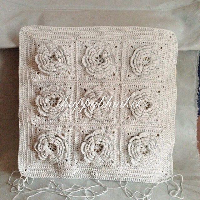 Mejores 75 imágenes de Crochet Design Blankets en Pinterest   Diseño ...