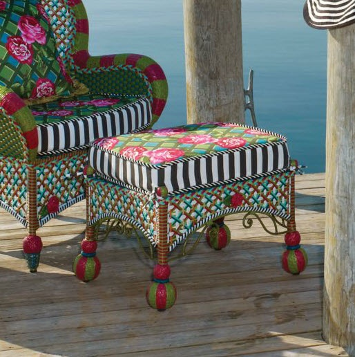 MacKenzie Childs | Greenhouse Outdoor Collection · Whimsical Painted FurnitureMackenzie  Childs InspiredPorch ...