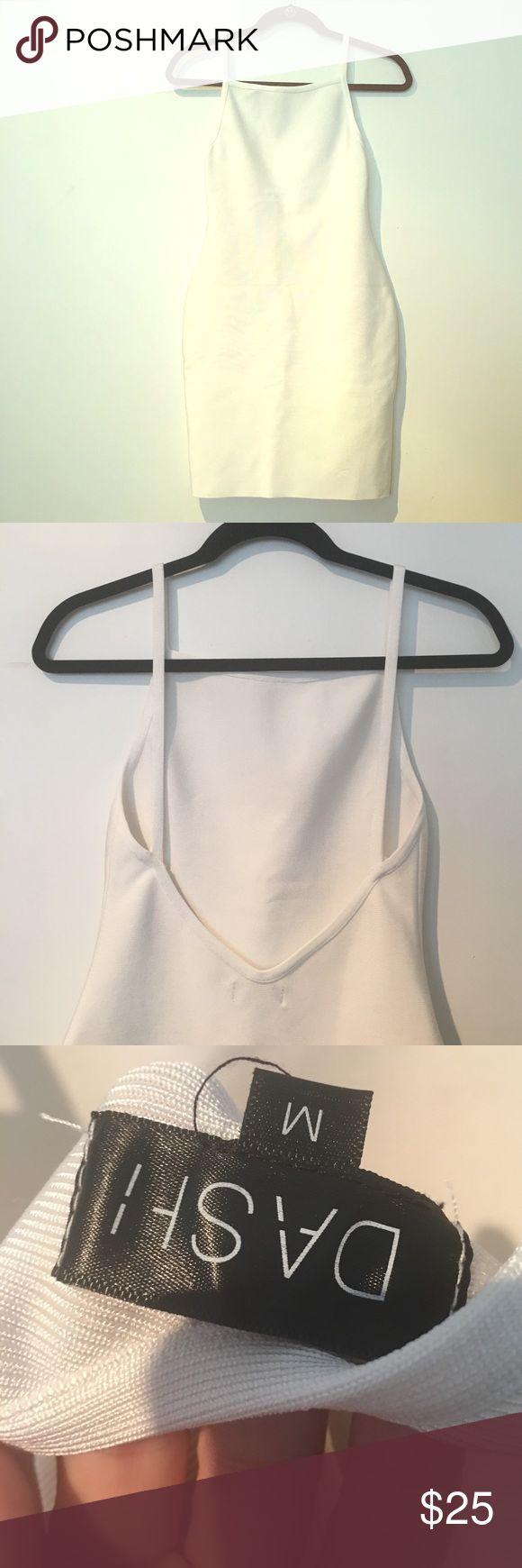 DASH LOS ANGELES KIM KARDASHIAN BACKLESS BANDAGE New. White bandage by kim kardashian store DASH DASH Dresses