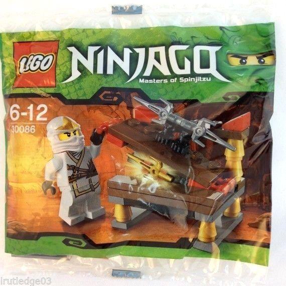 Lego Ninjago 30086 Hidden Sword Rare Polybag Set New/Sealed 39pcs + Rare Zane ZX #LEGO