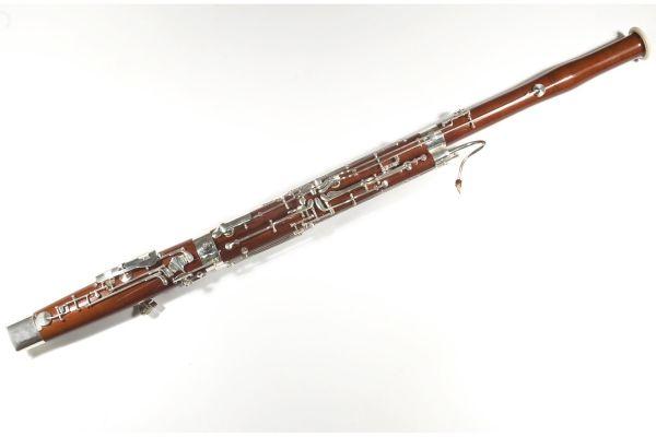 Fagot je dechový dřevěný hudební nástroj se strojkem z dvojitého plátku.  Vznikl v Itálii v 16. století