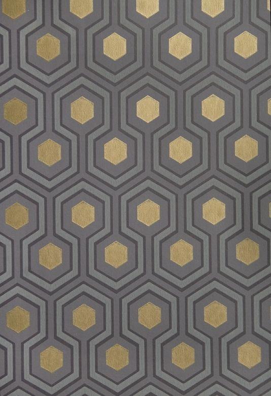 Hicks Hexagon Wallpaper Small Geometric Design Design