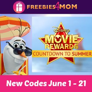 10 points for your Disney Movie Rewards account - GET YOUR #DMRCode http://freebies4mom.com/dmrjune1/