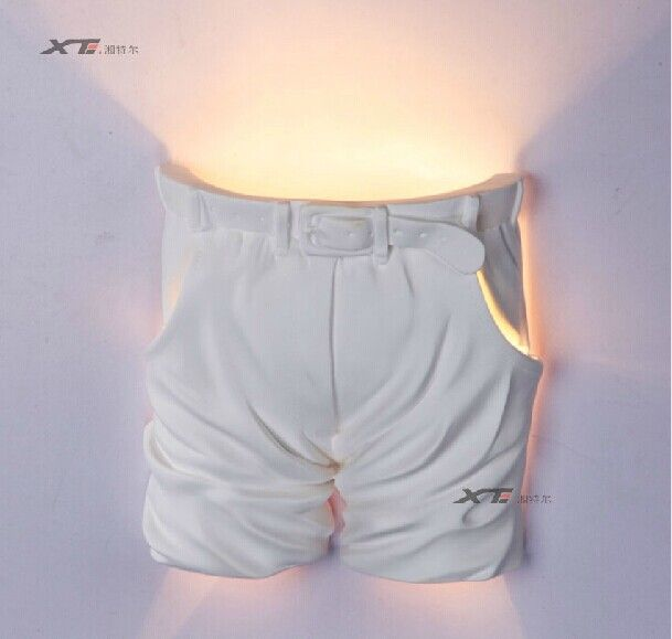 Творческий Европейский сельский контракт комната IKEA заседание спальне лампы лампы дети штукатурка бра белые брюки