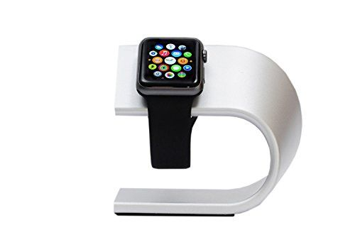 Apple Watch Stand Charger by Value Gadgets - Smart Stand For Apple Watch 38mm and 42mm Apple Watch Sport - Gold Apple Watch - Every Apple Watch Edition Value Gadgets http://www.amazon.com/dp/B0112FQOO2/ref=cm_sw_r_pi_dp_gSMXvb1TGYYXD