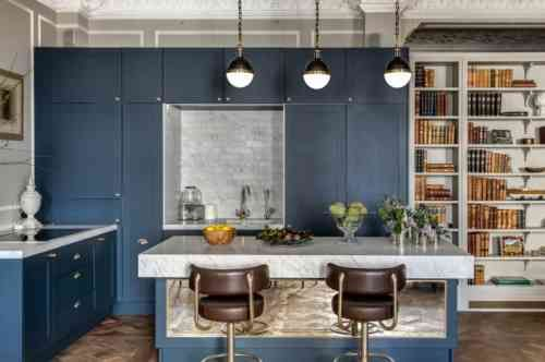 Avez-vous envie de rafraîchir l'intérieur de votre cuisine classique et de la rendre plus fonctionnelle ? L'intérieur moderne est fonctionnel et pratique.