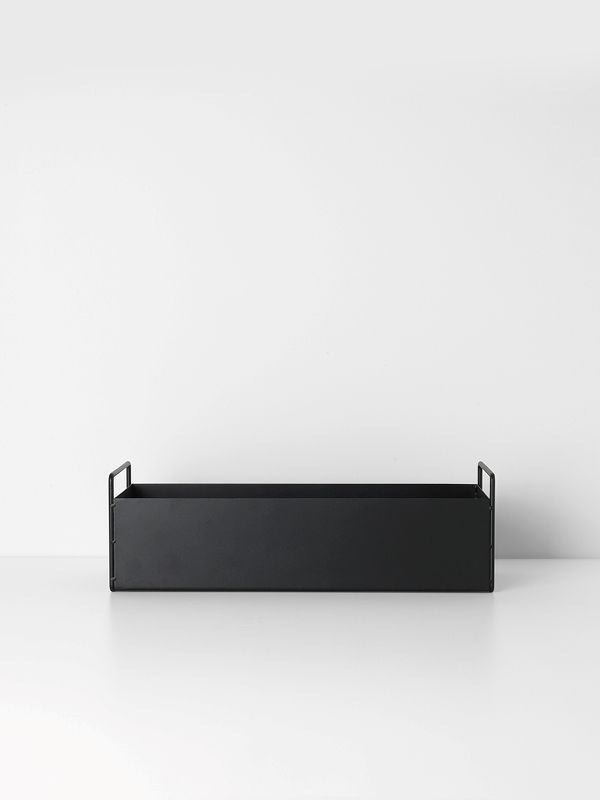 Plant Box - Black - Small 1
