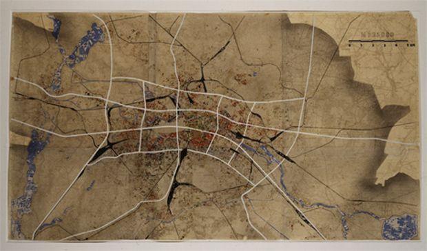 Hans Scharoun, Berlin Bandstadt