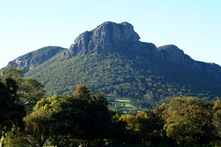 Mount Sturgeon, Dunkeld in the Southern Grampians Victoria; Image by  Margaret Hage Sony DSLR.  Stunning natural beauty of the Grampians a must visit destination. One of my favourite restaurants and paces to stay has this view. The Royal Mail in Dunkeld. Always better than anticipated. always surprising.