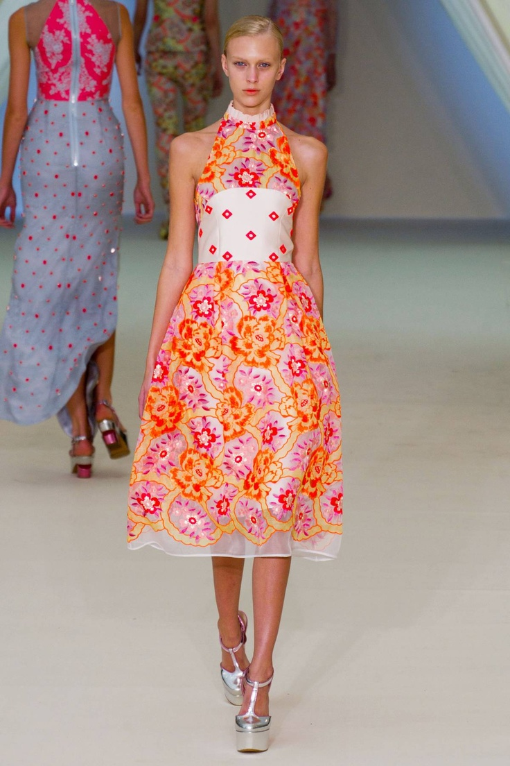 The Look: Erdem Spring 2013 RTW Collection: 2013 Inspiration, 2013 Rtw, Spring Bright, Addition Spring, Erdem Moralıoğlu, London Fashion, Spring 2013, Spring Style, Haute Couture