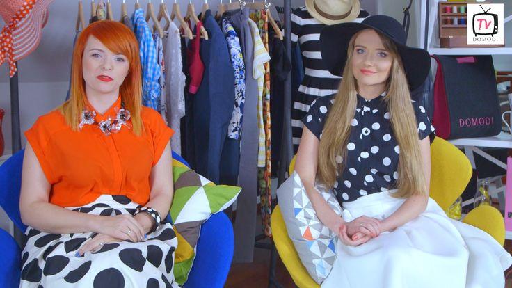 Jak nosić modny w tym sezonie styl retro?  Ania i Dorota omawiają typy sylwetek i doradzają, które elementy stylu retro pasują do poszczególnych figur. Jesteście ciekawi?  Zapraszamy na nowy odcinek Domodi.tv!