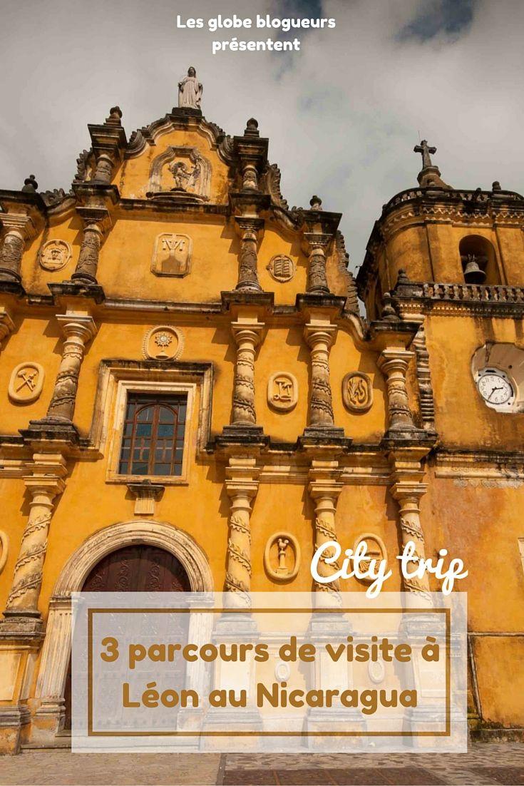 3 parcours thématiques pour découvrir Leon, une ville pleine de charme au Nicaragua.