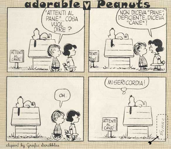 Adorable Peanuts nr.2 http://graficscribbles.blogspot.it/2014/05/peanuts-Charlie-Brown-Schulz.html