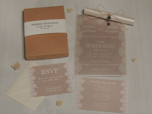 ReSpoke Boutique. rustic style wedding invites
