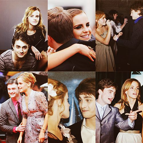 """""""At the end of the day, when something goes badly, he's the one I turn to and talk it over with."""" -Emma Watson on Daniel Radcliffe"""