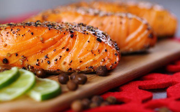 The Secret to a No-Stick Grilled Maple-Bourbon Glazed Salmon Fillet
