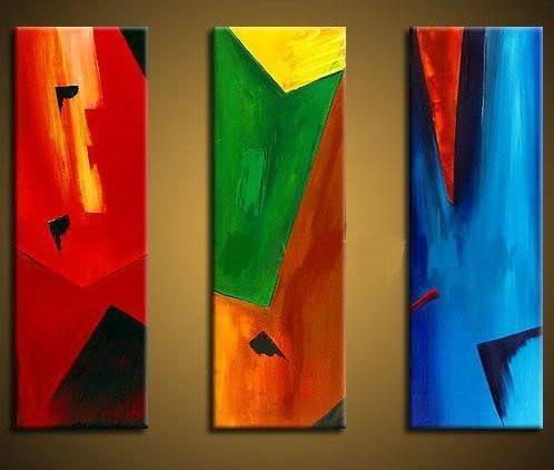cuadros abstractos modernos coloridos imagui