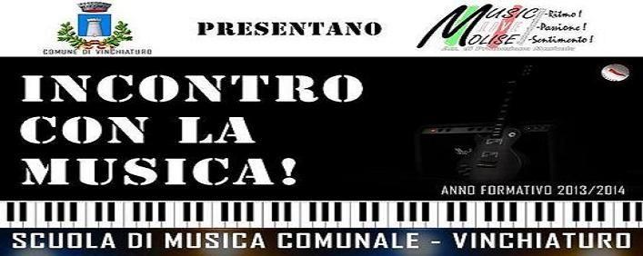 """Incontro con la Musica a Vinchiaturo (CB) il 31 Maggio 2014 organizzato dall'Associazione """"Music Live Molise"""""""
