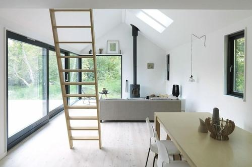Vacation cottage in Denmark by MønHuset