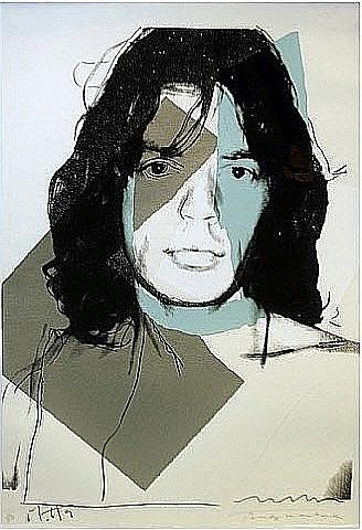 Andy Warhol, Mick Jagger 138