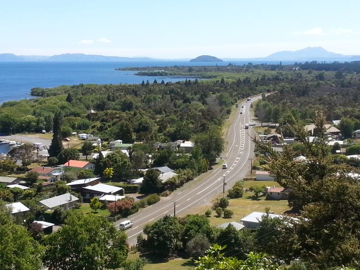 Motuoapa look out Looking North towards Taupo. #Motuoapa