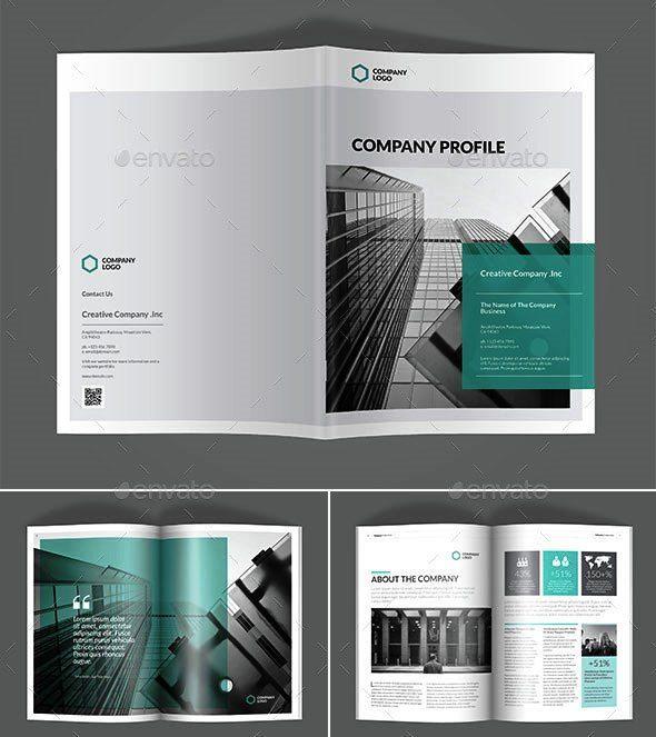 company profile layout design download
