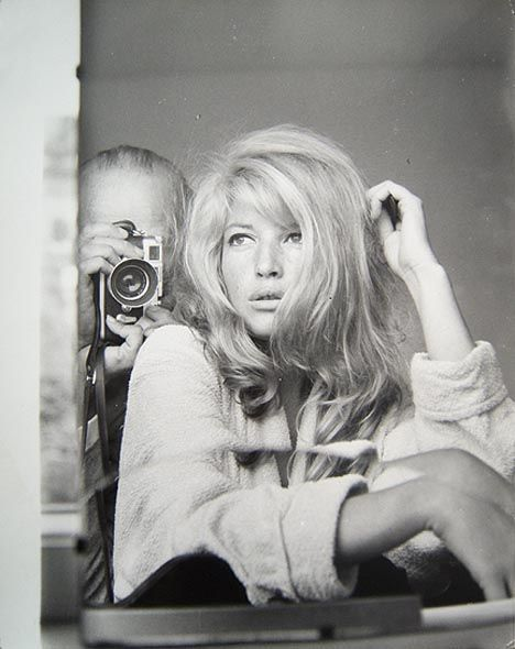 "the60sbazaar: ""Monica Vitti with photographer Peter Basch """