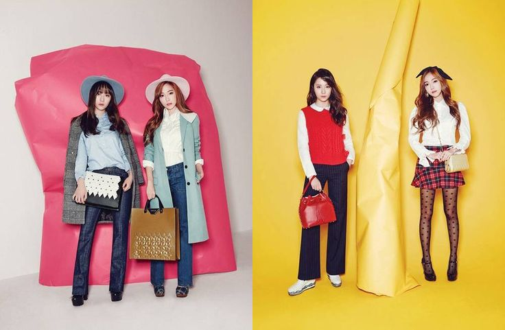 Lapalette X Jungsister with a YOUNG concept, taken at a colorful background and a MODERN MATURE image concept! www.lapalette.com.my