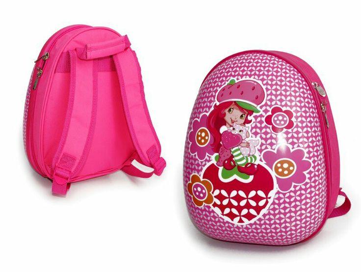 Mochila pre escolar, de plastico duro, tirantes ajustables y acolchados, en su interior con bolsillo separador, material polyester por la espalda y plástico en su frontis.