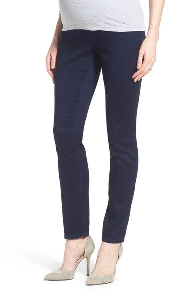 1822 Denim 'Butter' Maternity Skinny Jeans available at #Nordstrom