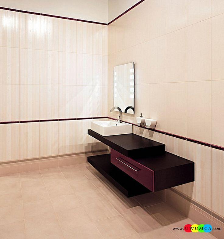 Bathroom:Decorating Modern Summer Bathroom Decor Style Tropical Bath Tubs Ideas Contemporary Bathrooms Interior Minimalist Design Decoration Plans Minimalist Bathroom With Purple Tones Cool and Cozy Summer Bathroom Style : Modern Seasonal Decor Ideas