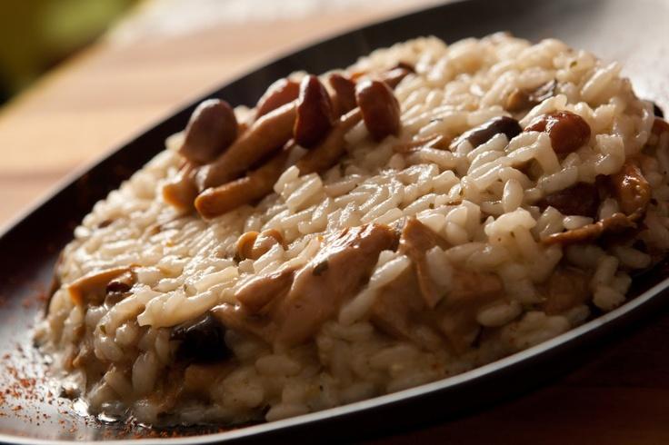 Sunday Morning-mushroom risotto