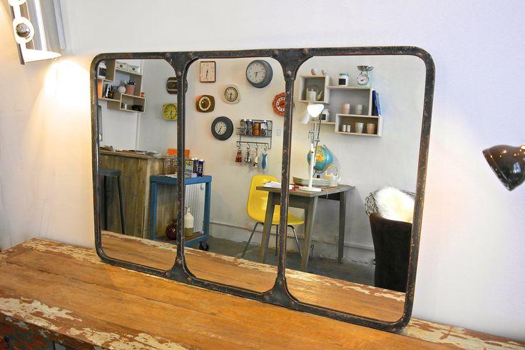 1000 id es sur le th me miroir industriel sur pinterest for Le miroir 71