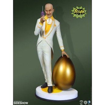 Preorder this Tweeterhead Statue online at Statuesque Ltd. flexible payment options and FREE EU shipping. This Egghead statue stands at 36cm and is 1/6 scale.