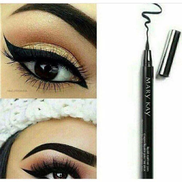 New Mary Kay Waterproof Liquid Eyeliner Pen Create Any Eye Look With Confidence Waterproof Liquid Eyeliner Liquid Eyeliner Pen Eyeliner Pen