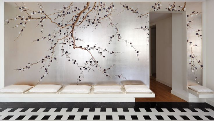 Japanese&Korean Hand Painted Wallpaper