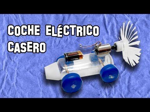 Coche eléctrico casero, fabrica uno para Navidad http://ini.es/1zQsD2z #Diversión, #JuguetesCaseros, #Navidad