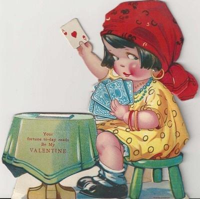 29 best Vintage Valentine Cards images on Pinterest  Vintage