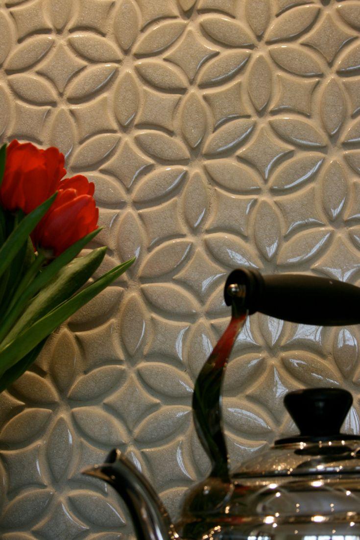 English Country Kitchen with Handmade Tile Backsplash
