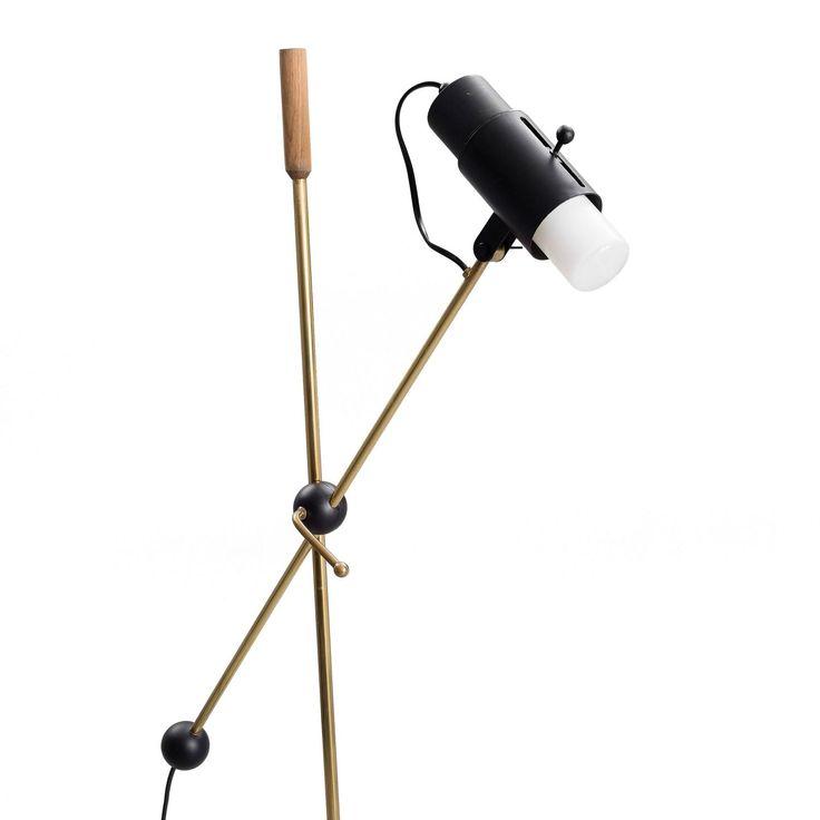 Unusual Floor Lamp by Tapio Wirkkala 2                                                                                                                                                     More