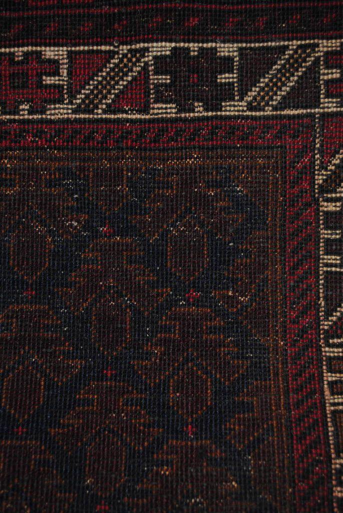 Handmade Woolen Carpet BELUTCH 0,91x 1,50 cm  ( part of carpet) | ioakeimidis