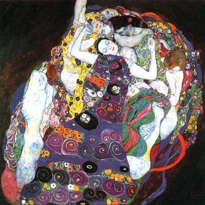 """A Virgem"", Gustav Klimt"
