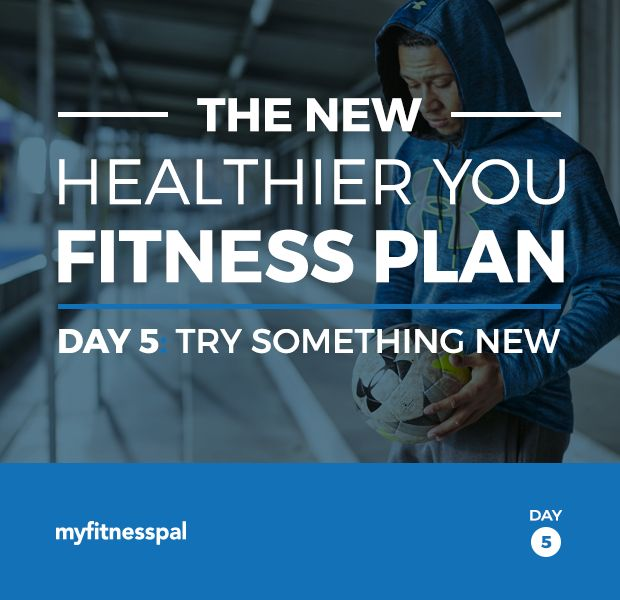 Welcome back to The New Healthier You Fitness Plan. On day 5 of each week, we'll focus on trying new things. Try venturing outside of your comfort zone at least one day per week! Mixing up your routine helps beat boredom, keeps expanding your horizons, and adds to your skill sets. One day per week, …