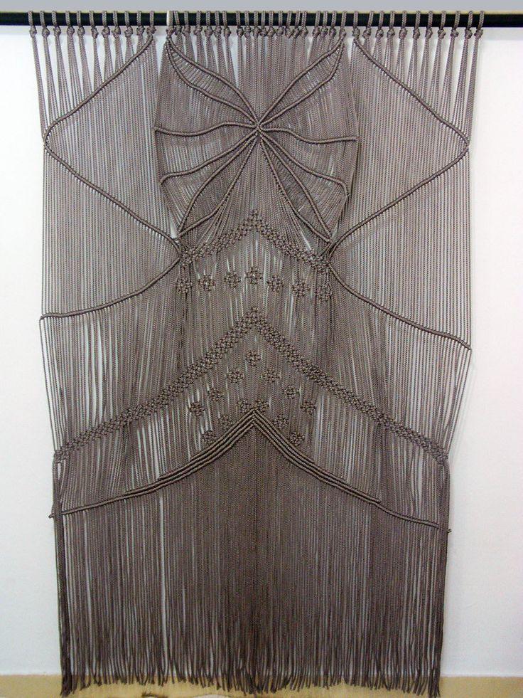 Macrame Wall Hanging or Curtain by HandyManiaDesigns on Etsy