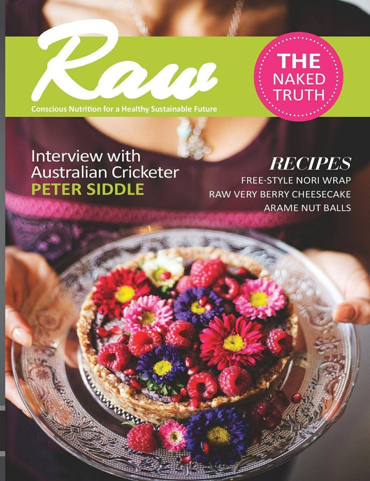 How amazing does the new raw magazine cover look! I am so happy to be the co-editor of this new magazine :)