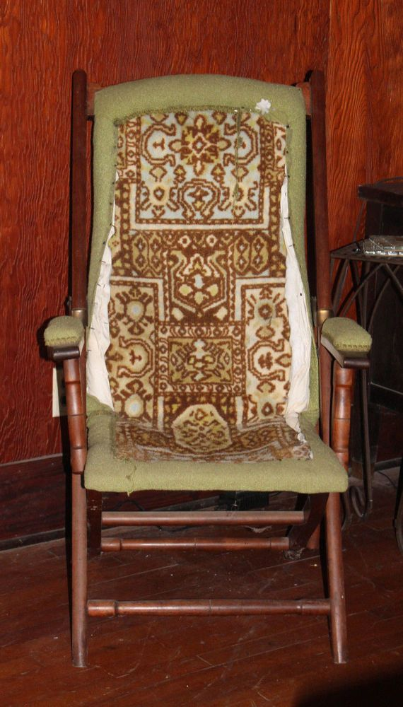 Campaign Folding Chair Late Victorian Arts U0026 Crafts Upholstered From  England #MissionArtsCrafts