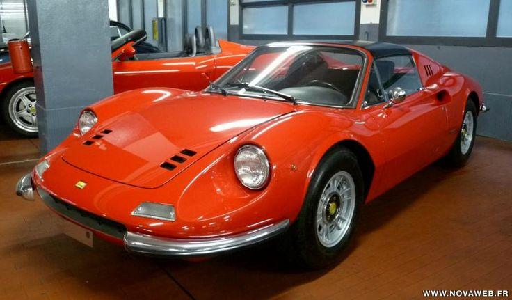 Vente voiture ancienne de collection : Ferrari Dino 246 GTS DINO MATCHING NUMBER - Petite annonce véhicule et automobile